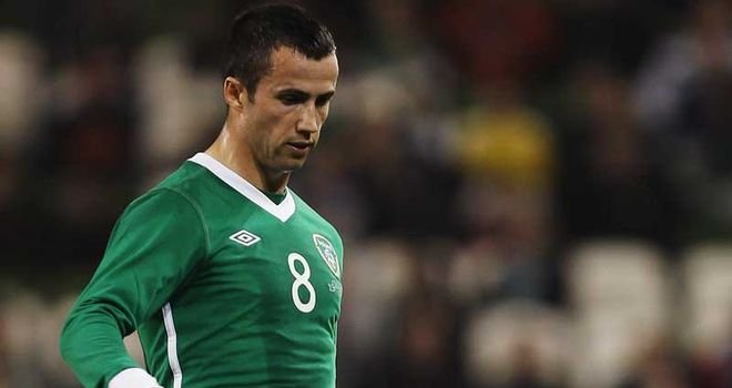 Keith Fahey: Injury has ruled the midfielder out of this summer's European Championships