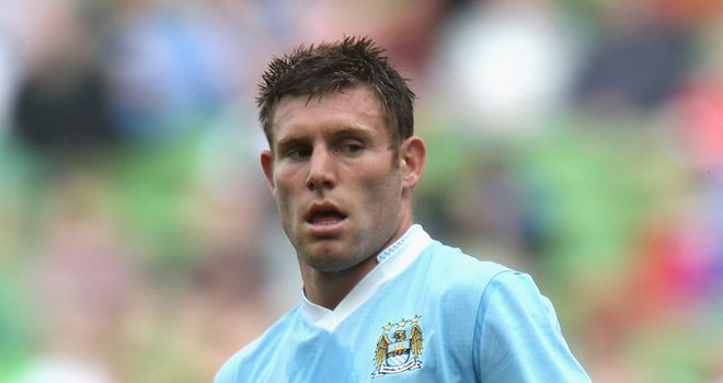 Milner: Picked up his first honour with FA Cup success last season