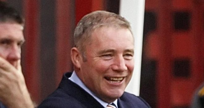 Ally McCoist: Pleased his side have won all six SPL games on the road this season