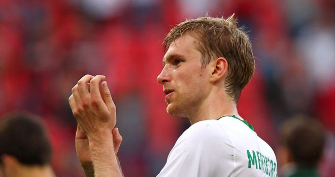 Mertesacker: The German is expected to sign a three-year contract