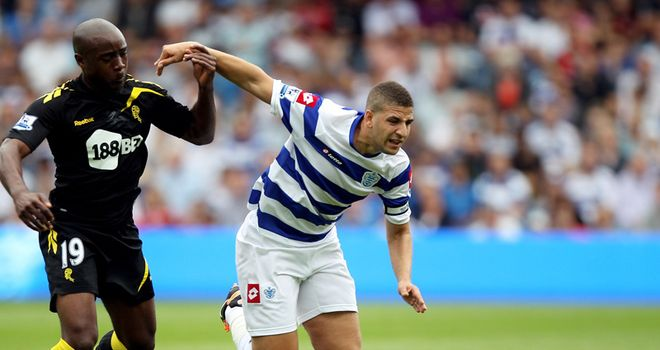 Taarabt: Midfielder neglects to support QPR team-mates at Fulham.