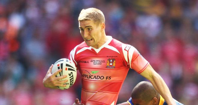 Sam Tomkins: Hopes to build on Wigan's recent success during 2012