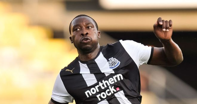 Ameobi: Has played more than 300 games since making his Newcastle debut in 2000