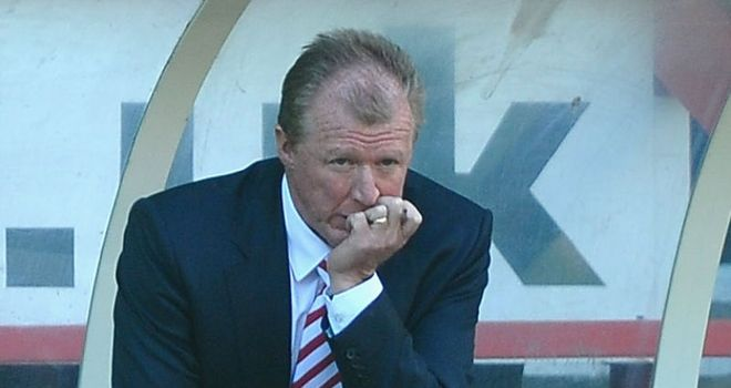 McClaren: Feeling the strain of managing Nottingham Forest on his return to England