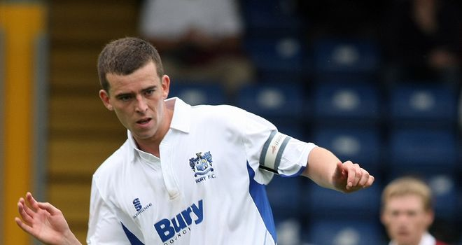 Schumacher: Opened the scoring for Bury