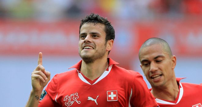 Tranquillo Barnetta: Swiss winger has joined Schalke on a three-year contract