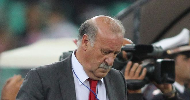 Del Bosque: Wants to give Spain's next big stars a chance to shine