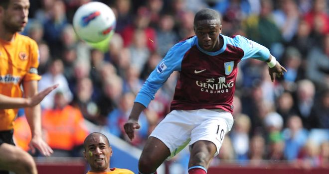 Charles N'Zogbia: Aston Villa winger could return from injury for weekend trip to Liverpool