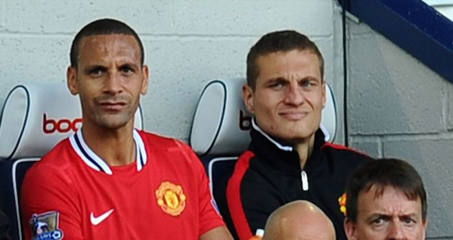 Ferdinand & Vidic: Roles have been reversed with former out for two weeks and latter out for five