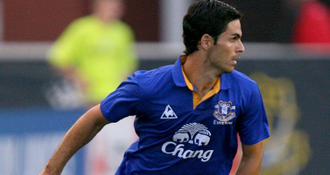 Arteta: Took a step closer to full fitness after featuring in Everton's friendly with Bohemians