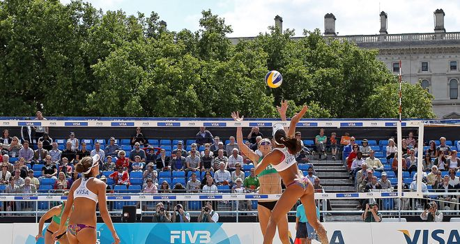 Beach volleyball: Where were the men at London test event?