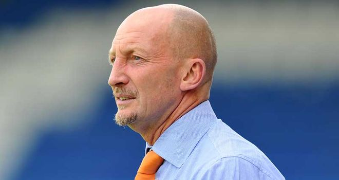 Ian Holloway: Blackpool boss has got the backing of his players