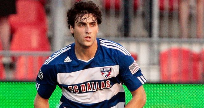 George John: Back with FC Dallas after a couple of months with West Ham