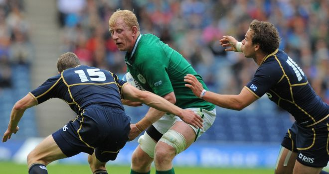 Cullen: Handed the Ireland captaincy