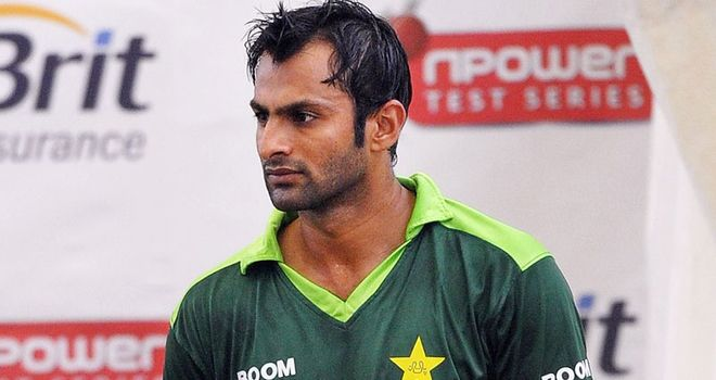 Malik: last played for Pakistan on tour of England in 2010