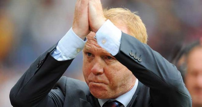 McLeish: Delighted with performance of his strike force