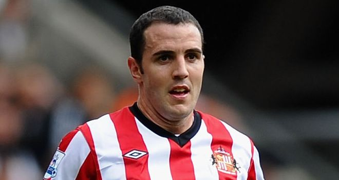 O'Shea: Has vowed to get 'fitter and stronger' after making Sunderland debut