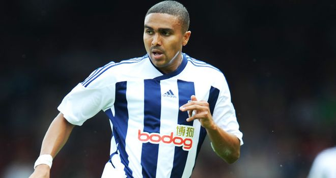 Jerome Thomas: West Brom winger hopes for another shock win at the Emirates