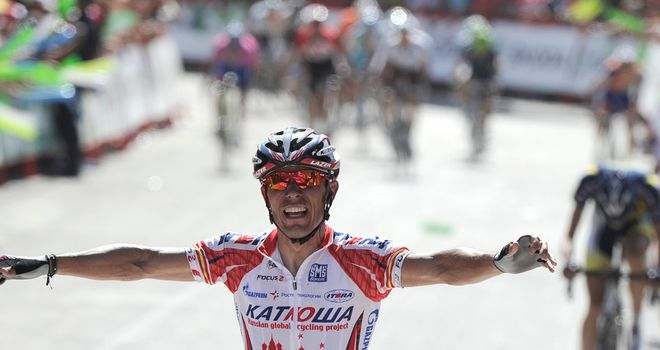 Rodriguez: His attack inside the final kilometre of stage five left his rivals trailing