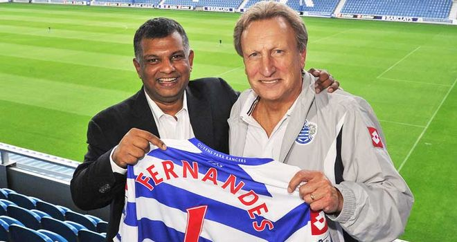 Neil Warnock has hailed the impact of new QPR owner Tony Fernandes