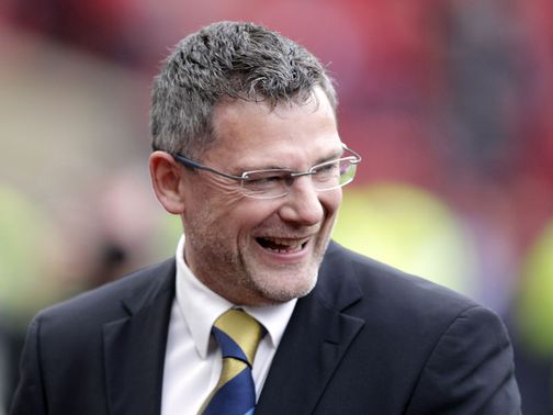 Craig Levein: Says Miller is still the 'number one striker'