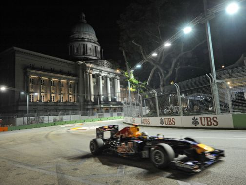 Singapore remains on the F1 calendar