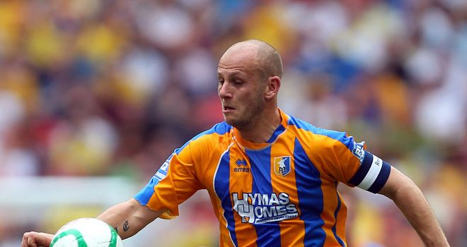 Adam Murray: Set to leave Mansfield on loan