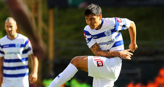 Alejandro Faurlin: Opted to join QPR rather than wait on a deal at Inter Milan