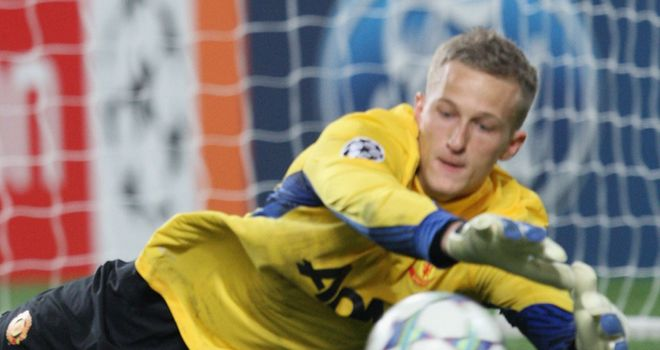 Anders Lindegaard: The Manchester United keeper is now injury-free according to Denmark boss