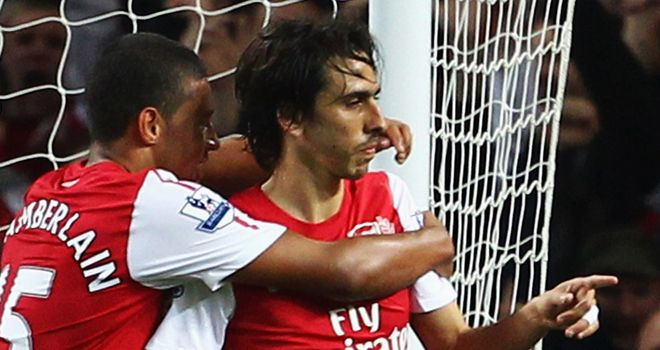 Yossi Benayoun: The Israeli captain has been impressed by Arsenal young guns since joining in August