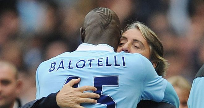 Mario Balotelli: Feels City boss Roberto Mancini brings the best out of him