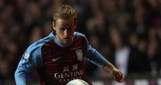 Bannan: Impressed by second-half display against Wigan and now wants Villa to push on