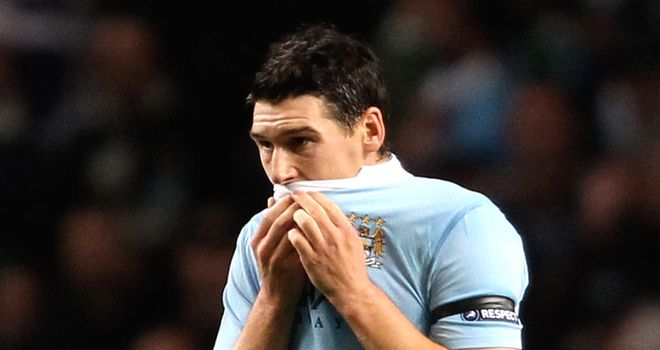 Gareth Barry: Believes Man City can make it through but knows it will be difficult