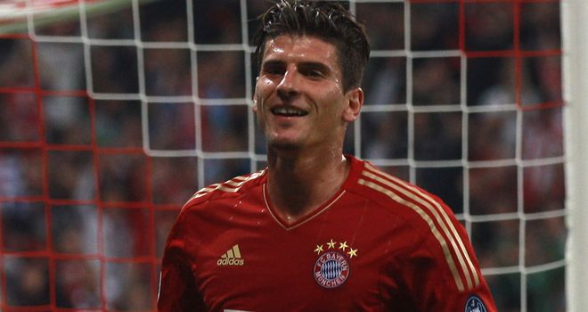 Mario Gomez: Scored another two goals as Bayern continued their excellent start to the season