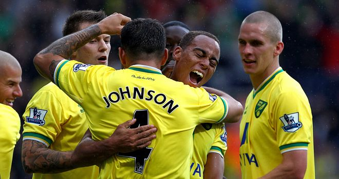 Bradley Johnson: Says the Norwich players are tight and want to do well for each other