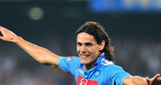Edinson Cavani - Wants to score against Manchester City