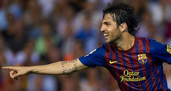 Cesc Fabregas: Barcelona midfielder set to return from injury this weekend