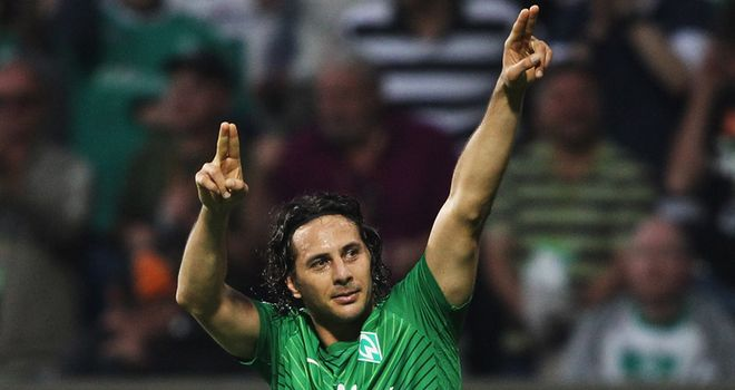 Claudio Pizarro: The former Chelsea striker has scored eight goals in 11 appearances for Werder Bremen this season