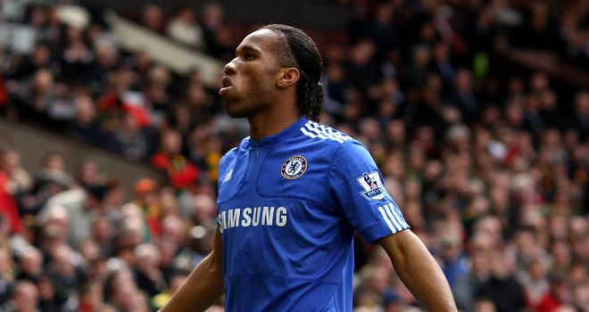Didier Drogba: Chelsea's Ivorain forward has taken the prize on two previous occasions