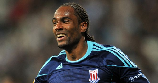 Jerome: Marked his first start for Stoke with a goal