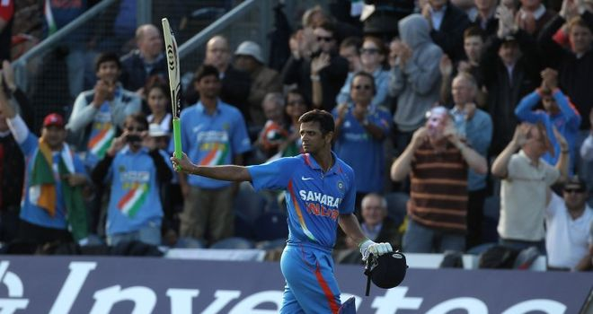 Rahul Dravid: Has been praised for his achievements
