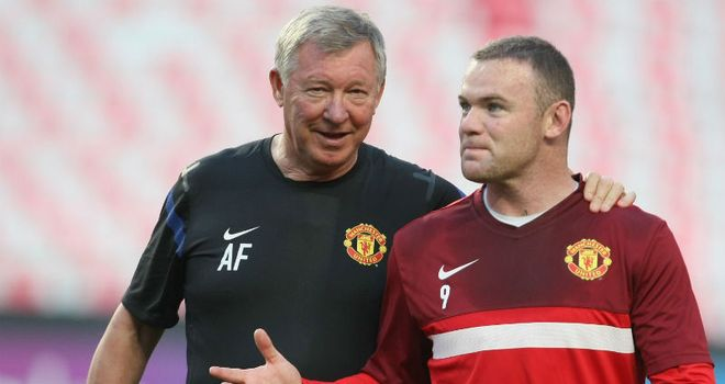 Wayne Rooney: Has been subjected to some explosive tirades from his manager