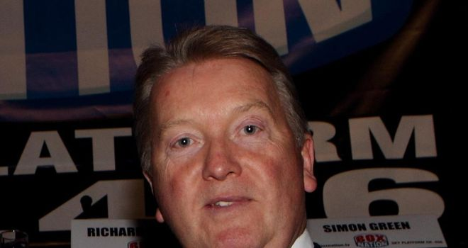 Frank Warren: Says he wouldn't promote a fight between Haye and Chisora
