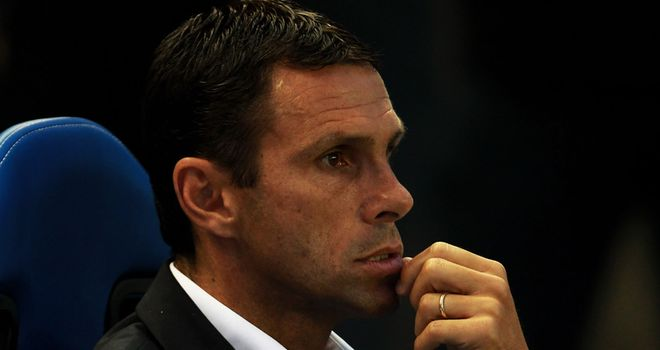 Poyet: Seeking to cause another upset in the Carling Cup against Liverpool