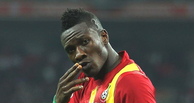 Asamoah Gyan: Ghana international will not be making an immediate return to Sunderland