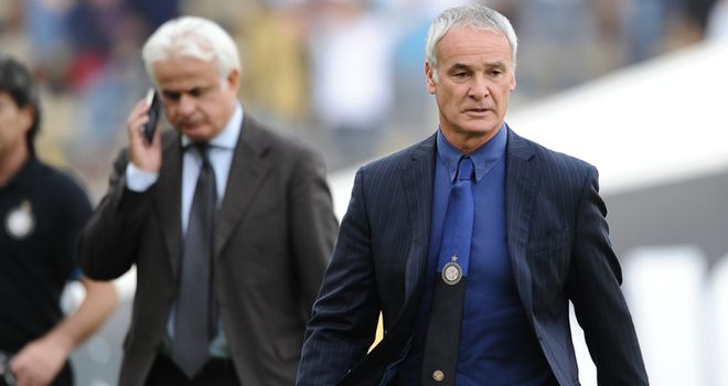 Ranieri: Glad to have won two games out of two as his Inter revival continues