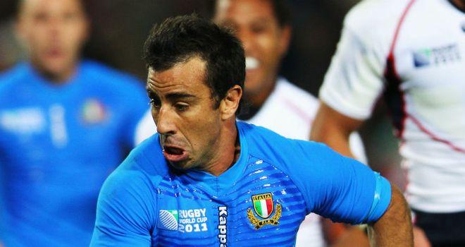 Luciano Orquera: scored all Aironi's points