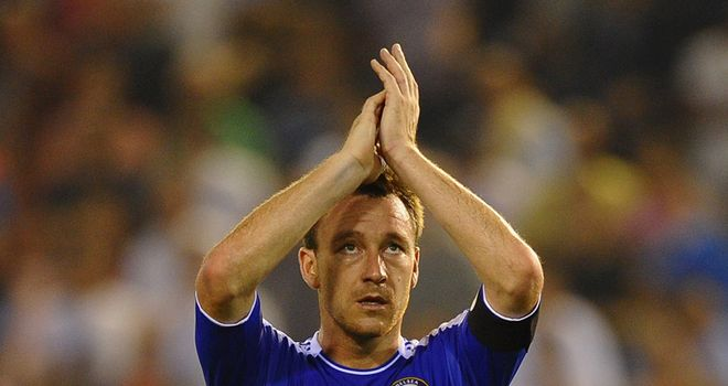 John Terry: Categorically denies making a racist slur against Anton Ferdinand
