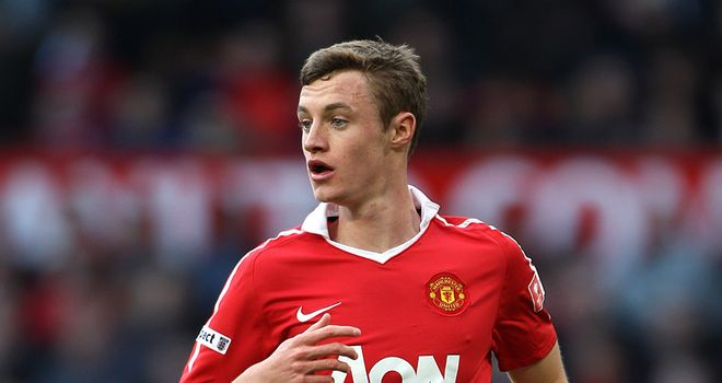 Will Keane: Young striker looks like he could stay with Manchester United next term