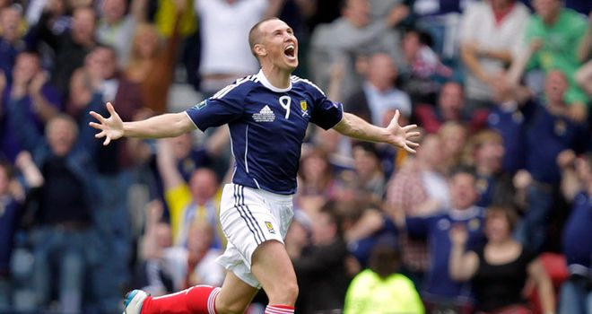 Kenny Miller: The striker wants to carry on scoring goal for the national side